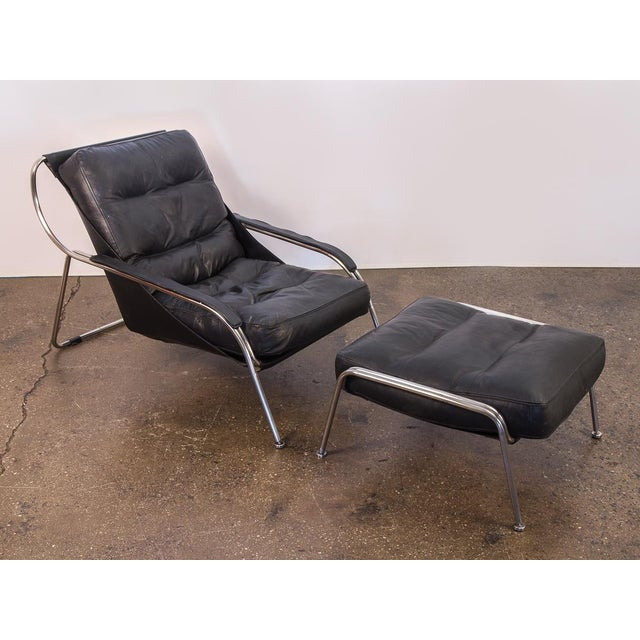 Maggiolina Lounge Chair and Ottoman by Marco Zanuso For Sale - Image 13 of 13