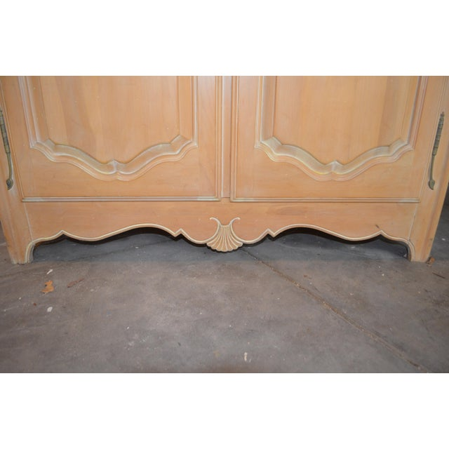 Ethan Allen Country French Armoire For Sale - Image 9 of 9