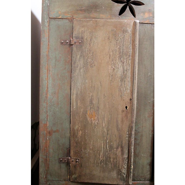 Vintage Distressed Brazilian Armoire For Sale - Image 4 of 11