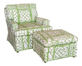 Image of Regency Chair and Ottoman Sets