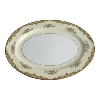 Vintage Noritake Carmela Serving Platter For Sale