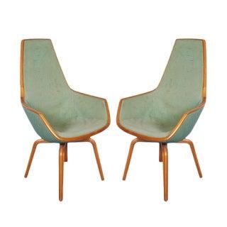 Giraffe Chairs by Arne Jacobsen - Pair