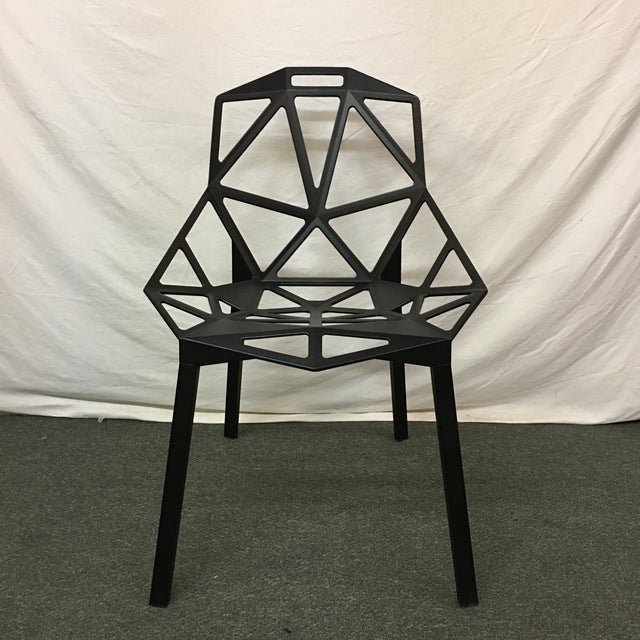 Magis Black Chair One - Set of 8 - Image 9 of 10