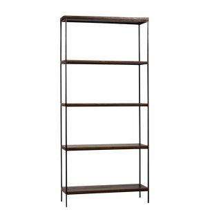 Large Reclaimed Wood & Iron Shelf For Sale