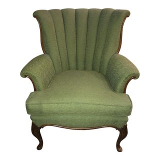 Antique Channel Back Chair For Sale