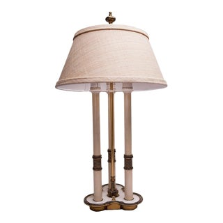 1940s Bouillotte Style Table Lamp For Sale