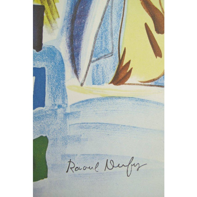 Date: 1954 Size: 20.25 x 28 inches Artist: Raoul Dufy (After) This charming poster advertises an event honouring Raoul...