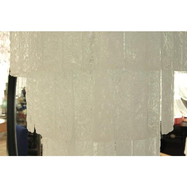 Italian Stecche Martellate Chandelier For Sale - Image 3 of 6
