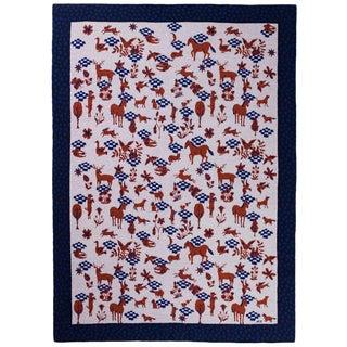 Dans Le Pre Cashmere Blanket, 51' X 71' For Sale