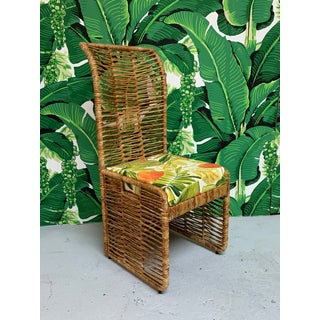 Rattan Rope Wrapped Dining Chairs, Set of 6 Preview