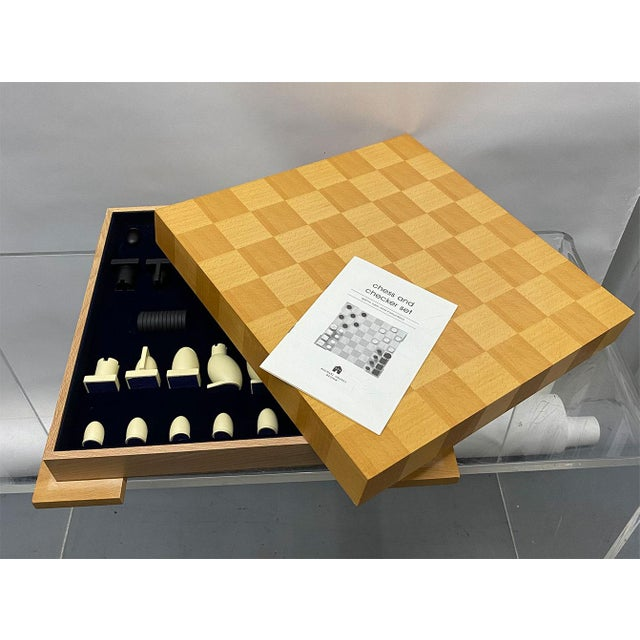 1990s 1990s Postmodern Chess / Checkers Set by Michael Graves For Sale - Image 5 of 13