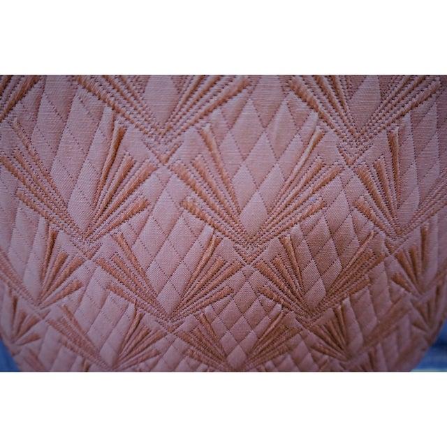 Faux Fur Deco Boudoir Chairs - A Pair - Image 6 of 10