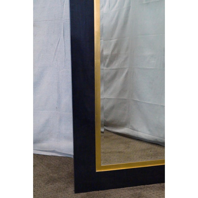 Gold Jonathan Charles Alexander Julian Collection Wall Mirror For Sale - Image 8 of 10