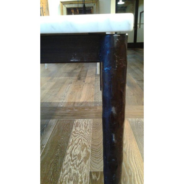 Marble Dining Table For Sale - Image 4 of 6