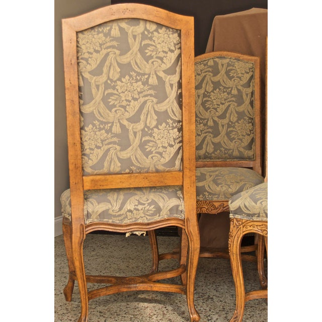 1990s 1990s Vintage Fairfield Dining Chairs - Set of 6 For Sale - Image 5 of 12