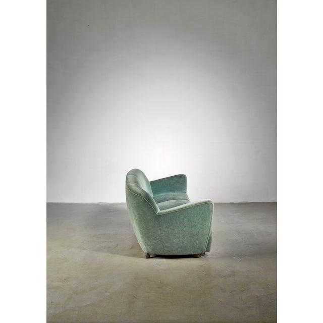 Mid-Century Modern Georg Kofoed Three-Seater Sofa, Denmark, 1940s For Sale - Image 3 of 6