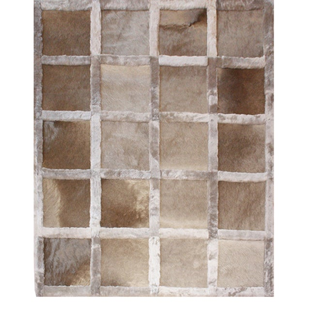 Modern Ginger Leathers Rug From Covet Paris For Sale - Image 3 of 3
