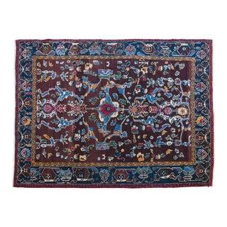 "Persian Parand Wool Rug - 5'5"" x 7'5"""