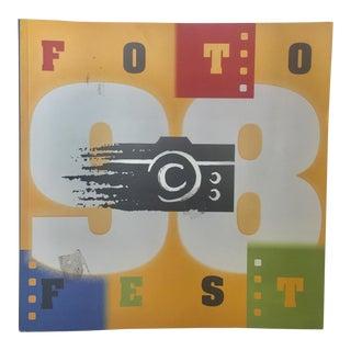 FotoFest 98 7th International Festival Book For Sale
