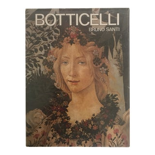 """1976 """"Botticelli"""" First Edition Art Book For Sale"""
