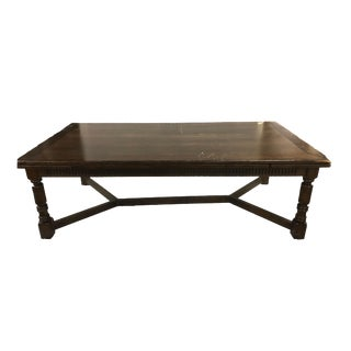 Jacobean Extendable Dining Table For Sale