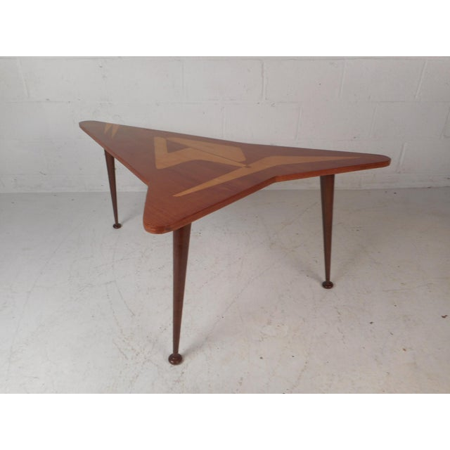 Beautiful Contemporary Modern Boomerang Coffee Table For Sale - Image 4 of 10
