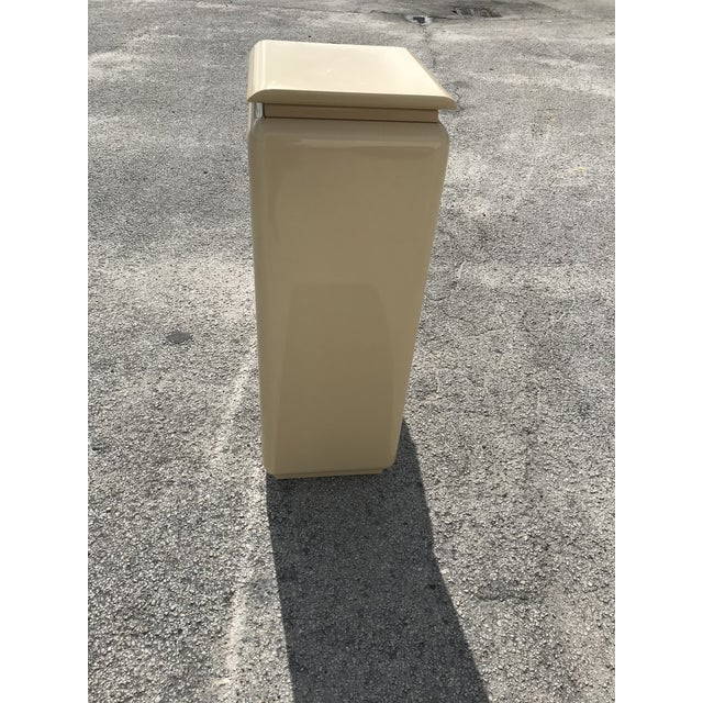 Wood Mid Century Modern Rougie Pedestals- a Pair For Sale - Image 7 of 9
