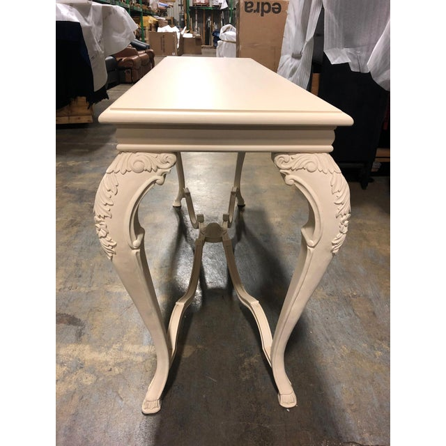 Louis XVI Neoclassical George Sand Console Table For Sale - Image 3 of 11