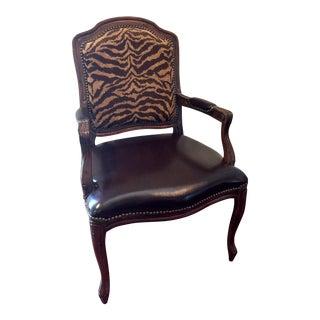 Louis XV Nailhead Trim Chair