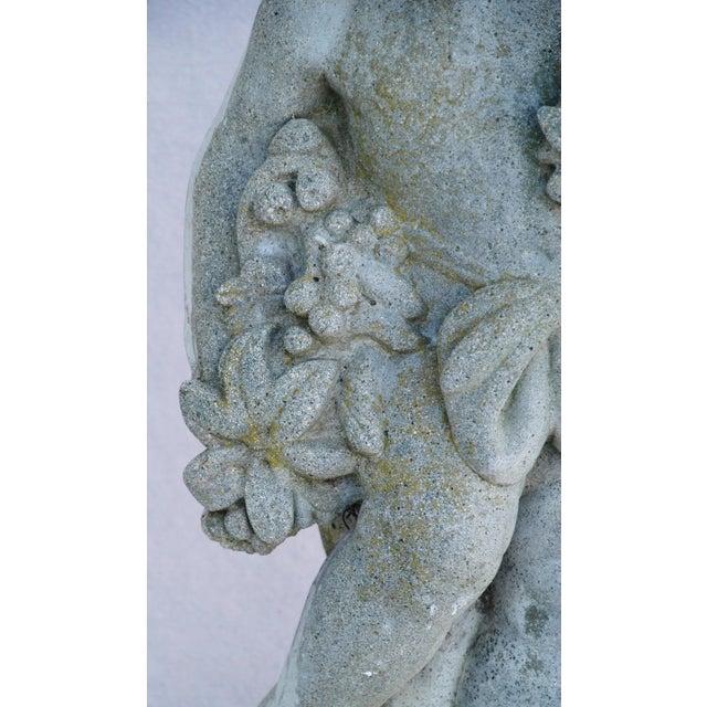 1950s Concrete Cherub Garden Statue - Image 6 of 11