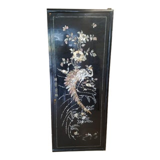 Mother of Pearl Single Door Cabinet For Sale