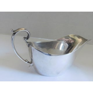 English Edwardian William Suckling Ltd Kingsway Silverplate 1/4 Pint Sauce/Gravy Boat Preview