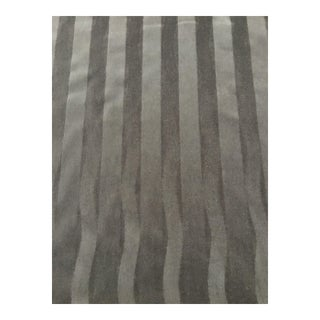Donghia Gray Striped Mohair Fabric - 6.5 Yards For Sale