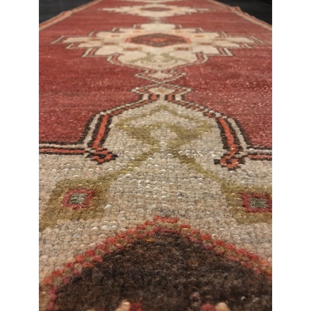 "Bellwether Rugs Vintage Turkish Oushak Runner - 2'4"" X 10'5"" - Image 7 of 10"