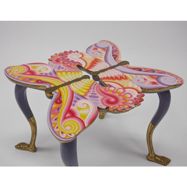 Mid-Century Modern Pedro Friedeberg Butterfly Table For Sale - Image 3 of 11