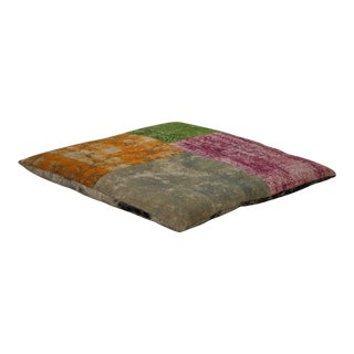 Luxury Patchwork Floor Pillow For Sale