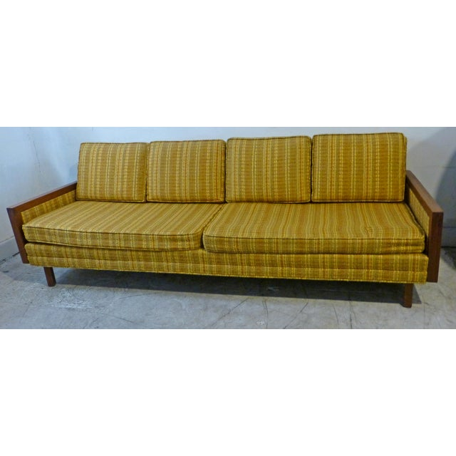 Mid-Century Modern Walnut Couch - Image 2 of 8