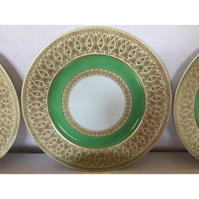 Early 20th C  Antique Bavaria Tirschenreuth Dinner Plates -Set of 6