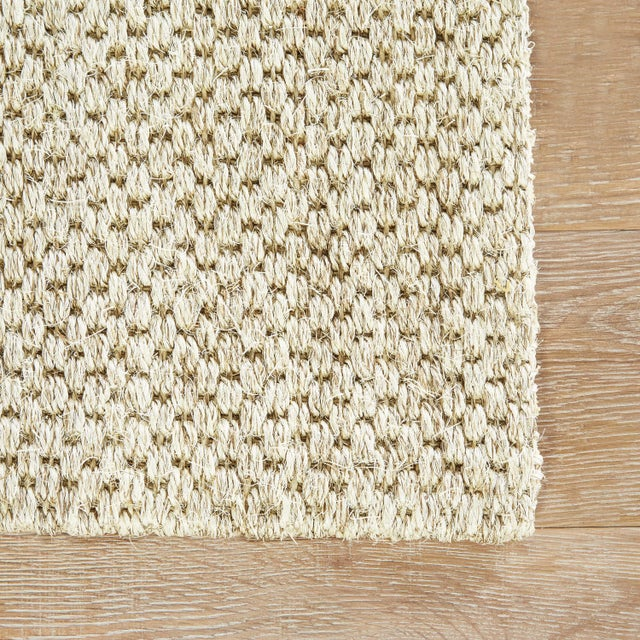 Contemporary Jaipur Living Tampa Natural Geometric Gray Area Rug - 9′ × 12′ For Sale - Image 3 of 6