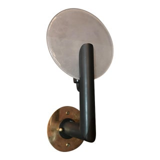 Single Disc Sconce by Fabio Ltd For Sale