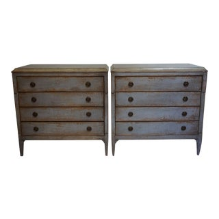 Hand Made Italian Painted Dressers-A Pair For Sale