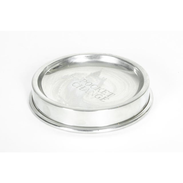 Mid 20th Century English Silver Plated Pocket Change Tray For Sale - Image 5 of 5