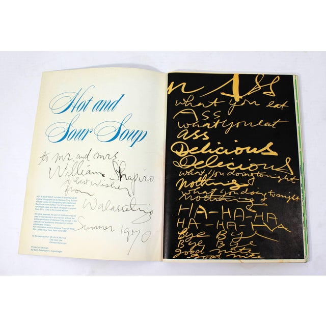 For your consideration is a risqué and exciting, art and poetry book, signed, dated and numbered by Walasse Ting, circa...