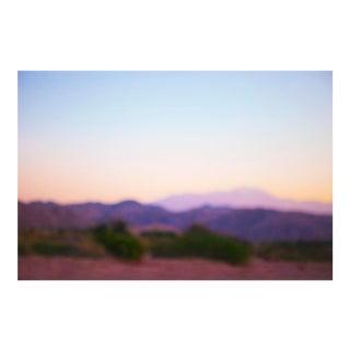 "Cheryl Maeder ""Desert Purple Haze"" Photographic Watercolor Print For Sale"