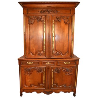 19th Century Buffet Deux-Corps From Normandy For Sale