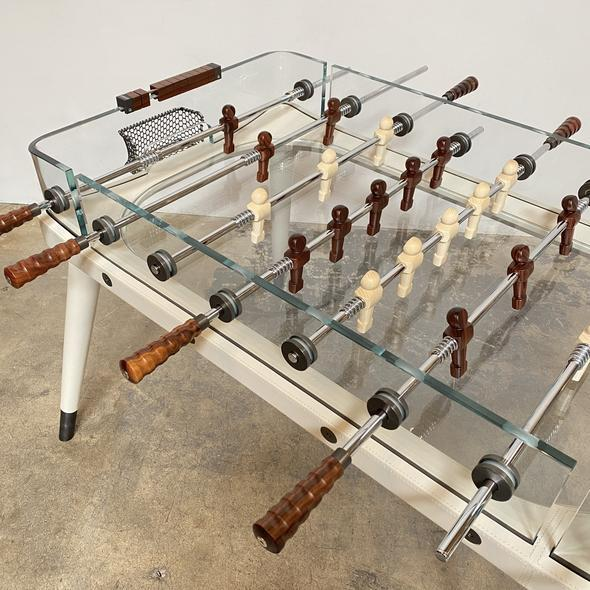 Ivory Vintage Centroid Richerche Giorgetti 90 Minuto Foosball Table For Sale - Image 8 of 13