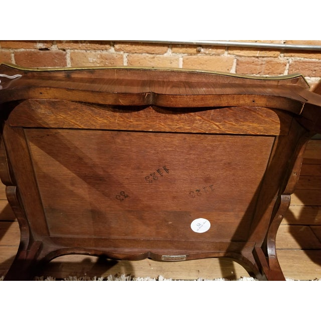 Early 20th Century Jacques Bodart Inc. Satinwood Occasional Table From Waldorf Astoria For Sale - Image 4 of 12