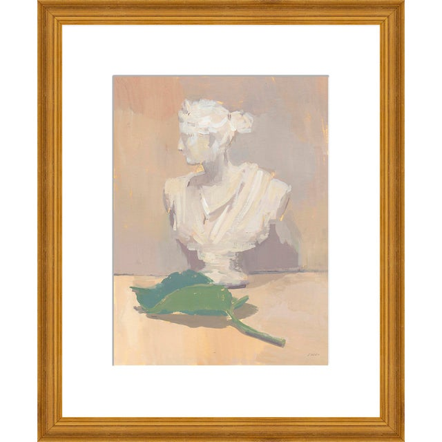 """Contemporary Medium """"Leaf of Athena"""" Print by Michelle Farro, 18"""" X 22"""" For Sale - Image 3 of 3"""