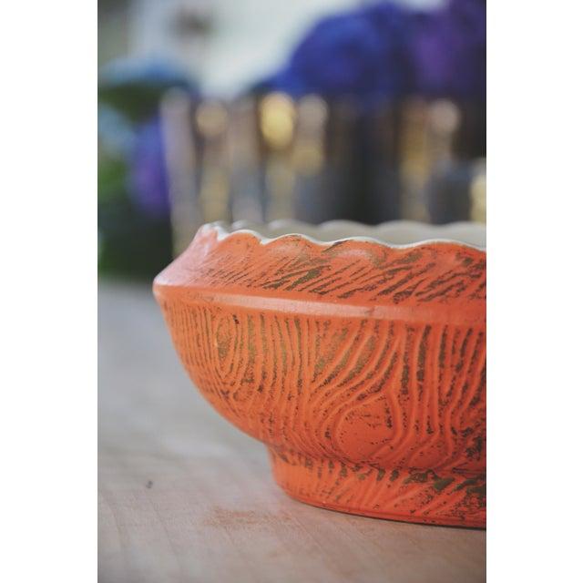 Golden Decorative McCoy Bowl - Image 3 of 6