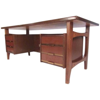 Mid-Century Ico Parisi Style Executive Desk by Schirolli, Circa 1960 For Sale